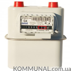 Счетчик газа Metrix G4